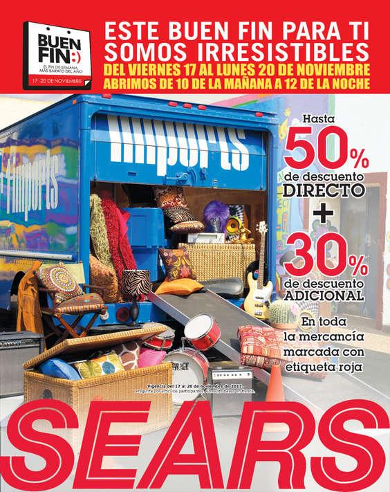 Ofertas de Sears, Este buen fin para ti somos irresistibles
