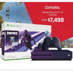 Ofertas de Suburbia, Xbox One Edición Fortnite