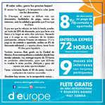 Ofertas de D'Europe, Rebajas de verano