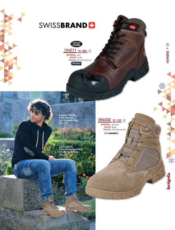 fe015dc4fc252 Zapatos de trabajo en Ciudad de México - Catálogos