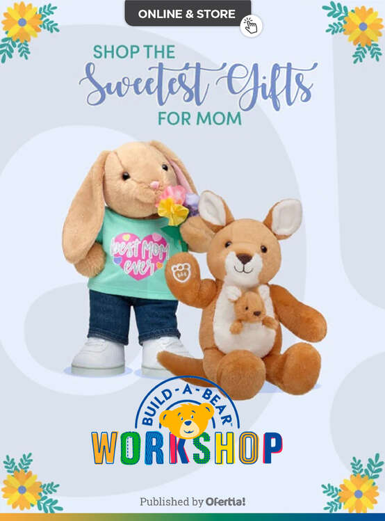 Ofertas de BUILD-A-BEAR, Mother Day Gifts