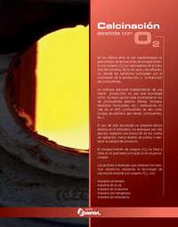 Calcinación asistida con O2