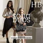 Ofertas de HB® Catálogo A Otro Nivel, Promoción Dúo Dama