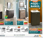 Ofertas de The Home Depot, Expo pisos y baños