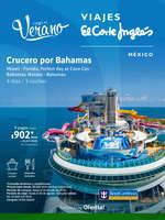 Ofertas de Viajes El Corte Inglés, Llegó el Verano - Crucero por Bahamas