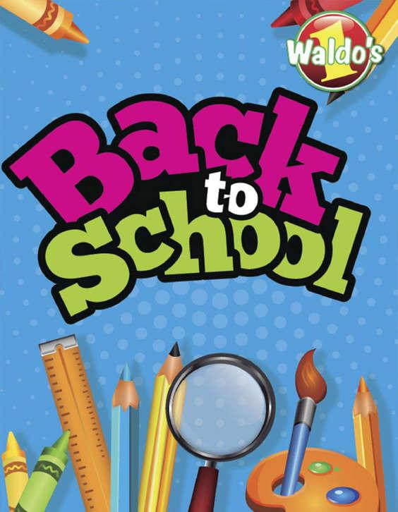 Ofertas de WALDO´S, Back to school