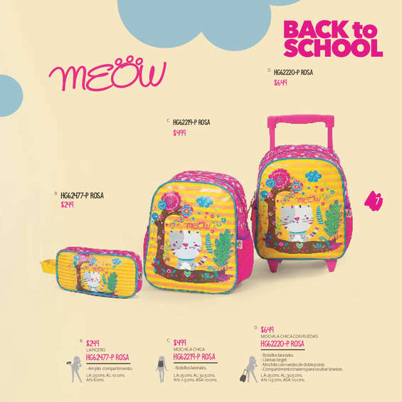 Ofertas de HB® Catálogo A Otro Nivel, HB Handbags Back to School