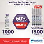 Ofertas de Farmapronto, Insulina