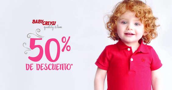 Ofertas de Baby Creysi, 50% de descuento