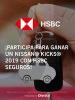 Ofertas de HSBC, Gana un Nissan Kicks 2019