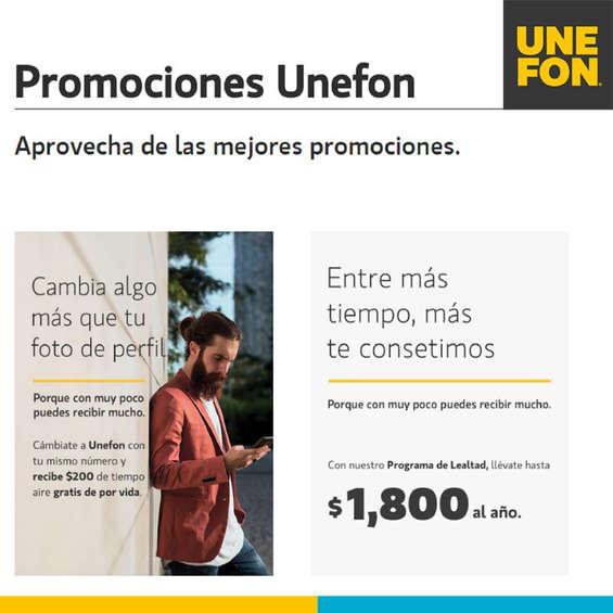 Ofertas de Unefon, Promociones Unefon