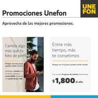 Promociones Unefon