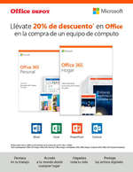 Ofertas de Office Depot, 20% de descuento en Office