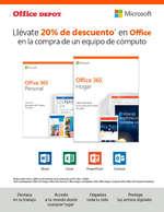 Ofertas de Office Depot, 20% de descuento en Office