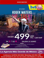 Ofertas de Excel Tours, Roger Waters
