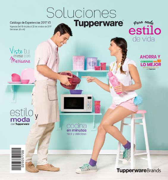 Ofertas de Tupperware, Catalogo de experiencias 2017