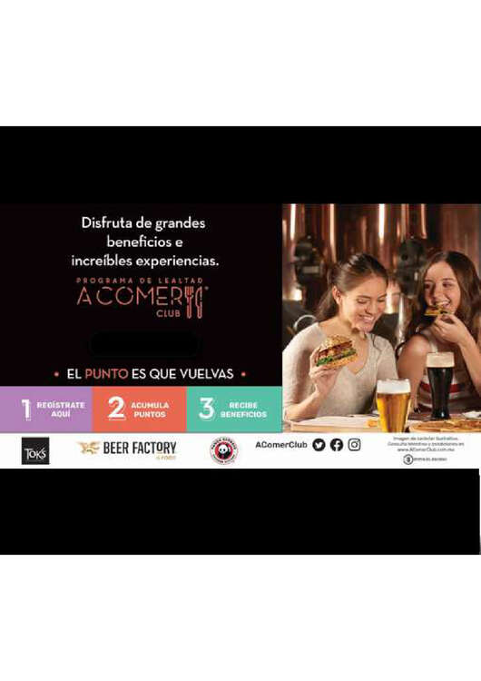 Ofertas de Beer Factory, Beer lealtad
