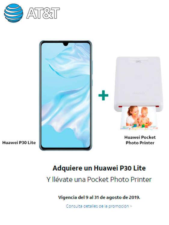 Ofertas de AT&T, Adquiere un Huawei p30 light