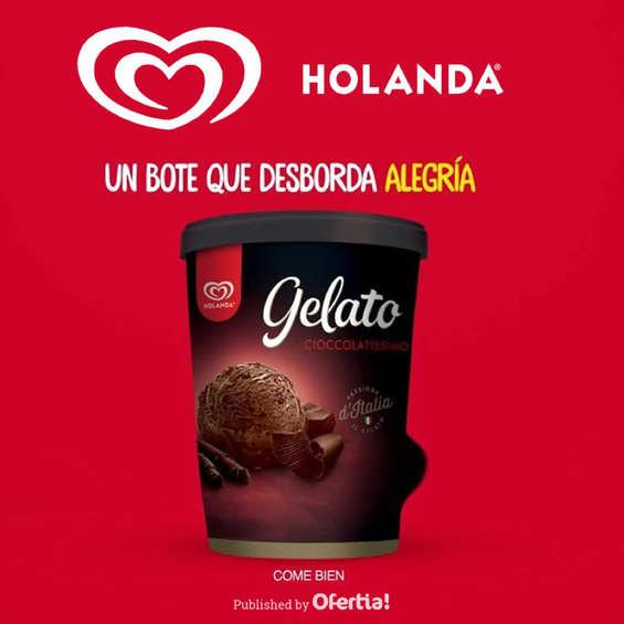 Ofertas de Helados Holanda, Gelato