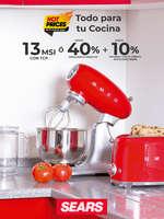 Ofertas de Sears, Todo para tu Cocina