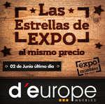 Ofertas de D'Europe, Las estrellas de expo