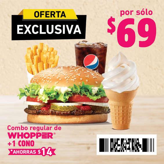 Ofertas de Burger King, Cuponera 21 dic - 15 abr