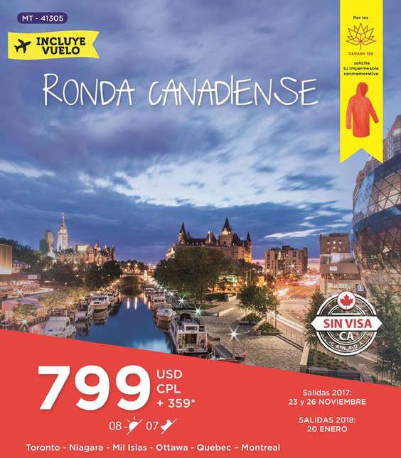 Ofertas de Mega Travel, canada