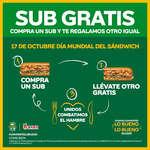 Ofertas de Subway, Día mundial del sándwich