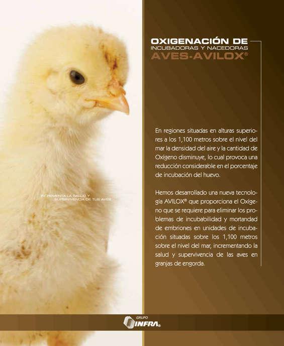 Ofertas de Infra, Oxigenación de incubadoras y nacedoras