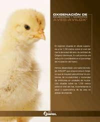 Oxigenación de incubadoras y nacedoras