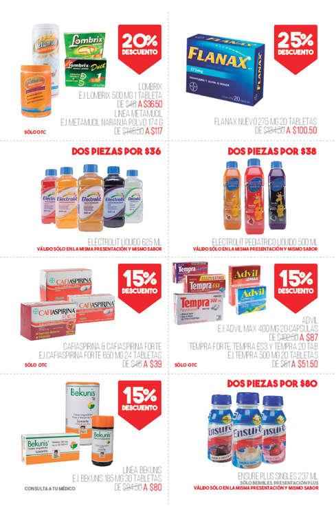 Ofertas de Farmacias San Pablo, Bienestar para todos