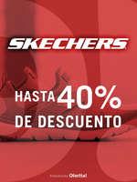 Ofertas de Skechers, Hasta 40% de descuento