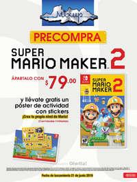 PRECOMPRA Super Mario Maker 2
