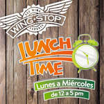 Ofertas de Wing Stop, Lunch Time