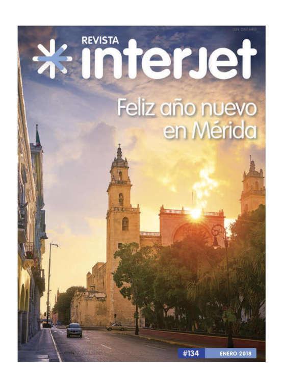 Ofertas de Interjet, Revista interjet enero