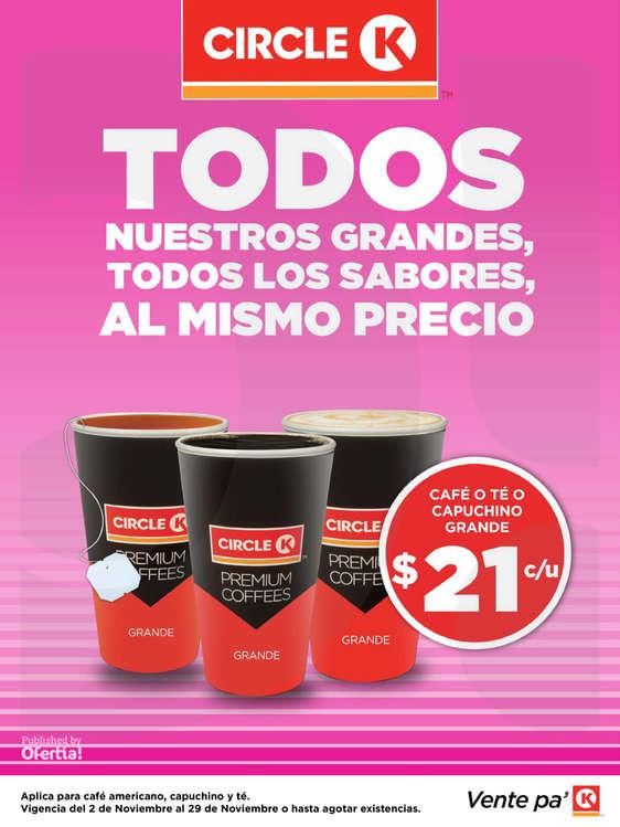 Ofertas de Circle K, Promociones Durango, Torreón, SLP y Zacatecas