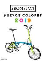 Ofertas de Brompton, Nuevos colores 2019