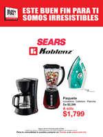 Ofertas de Sears, Este Buen Fin para ti somos irresistibles - Línea Blanca