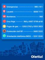 Ofertas de Ofertia, Información de Emergencia