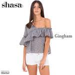Ofertas de Shasa, Gingham