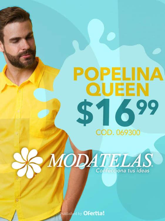 Ofertas de Modatelas, Popelina Queen