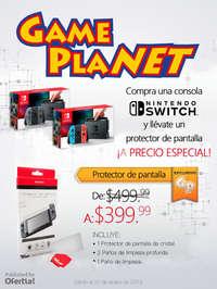 Nintendo Switch + protector de pantalla