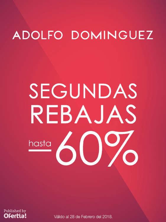 Ofertas de Adolfo Dominguez, Segundas Rebajas
