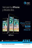 Ofertas de AT&T, Ven por tu Iphone y llévate dos