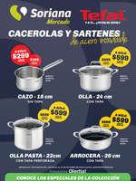 Ofertas de Soriana Mercado, Acero Inoxidable Tefal